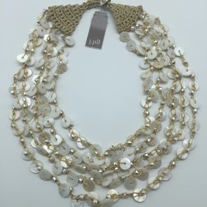 J. Jill Very Pretty Sand & Sea Layered Necklace
